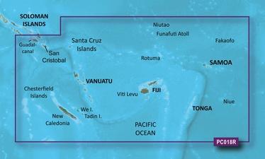 Garmin BlueChart g2 VPC018R New Caledonia-Fiji