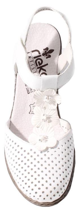 Rieker 40996-80 Flower White 39