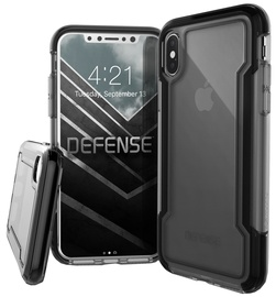 X-Doria Defense Clear Cover For Apple iPhone X Black