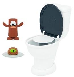 Žaislinė figūrėlė PooPeez Toilet Launcher Playset 71250