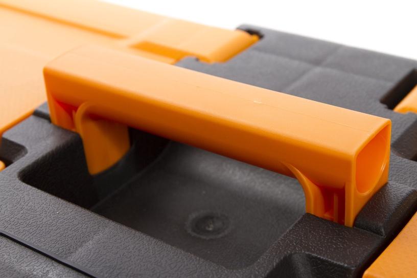 Forte Tools MG-22 Toolbox 582x234x310mm Black/Yellow