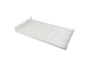 "Riiul Lanberg 19"" Fixed Shelf w/ Angle Bar 1U"