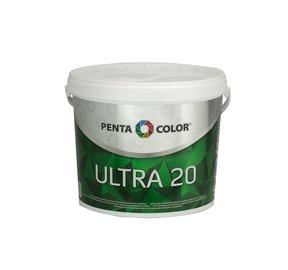 KRĀSA DISPERSIJAS ULTRA 20 BALTA 3 L (PENTACOLOR)