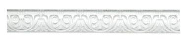 Lubų apdailos juostelės B-10, balta, 200 x 4.5 cm