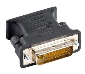 Lanberg Adapter DVI / VGA Black
