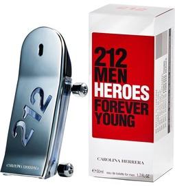 Туалетная вода Carolina Herrera 212 Men Heroes EDT, 50 мл