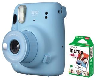 Моментальный фотоаппарат Fujifilm INSTAX MINI 11 SKY BLUE + 10 PL