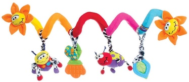 Игрушка для коляски Playgro Amazing Garden Twirly Whirly, многоцветный