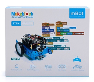 MakeBlock mBot V1.1 STEM Robot Blue 2.4G 90058
