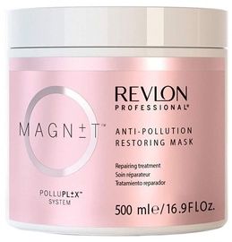 Kaukė plaukams Revlon Magnet Anti-Pollution Restoring Mask, 500 ml