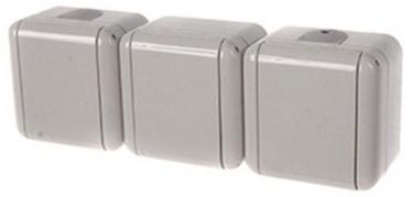 REML 229307000 Triple Socket Gray