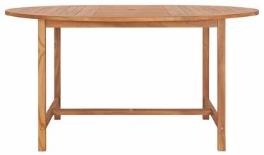 Садовый стол 49007, коричневый
