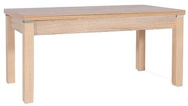 Pusdienu galds Signal Meble Kleopatra Sonoma Oak, 1240 - 1640x640x560 - 750 mm