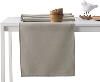 DecoKing Pure HMD Tablecloth Cappuccino 30x100