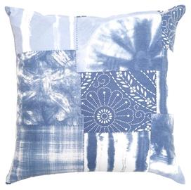 Dekoratiivne padi Home4you Holly, sinine/valge, 450 mm x 450 mm