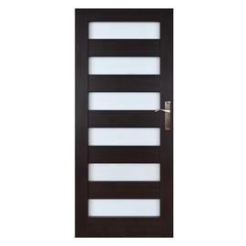 Vidaus durų varčia Everhouse Genua, wenge, kairinė, 74.4x203.5 cm