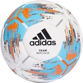 Adidas Team Replique Ball CZ9569 White/Blue Size 4