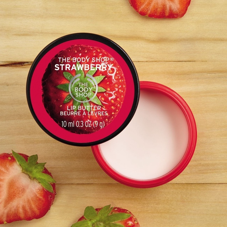 The Body Shop Strawberry Lip Butter 10ml