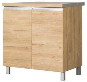 Нижний кухонный шкаф Bodzio Monia 80 Brown, 800x520x860 мм