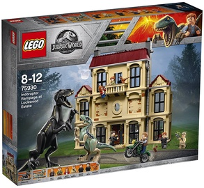 LEGO Jurassic World Indoraptor Rampage at Lockwood Estate 75930