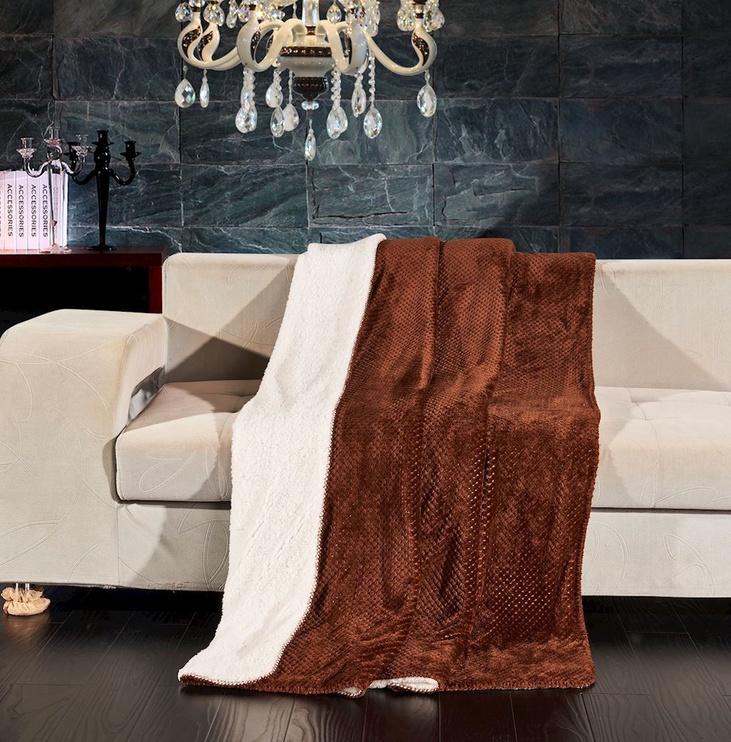 Sega DecoKing Lamby Brown, 170x210 cm