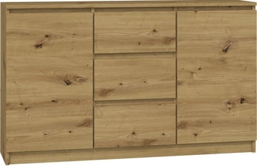 Komoda Top E Shop 2 Doors 3 Drawers Artisan 120cm