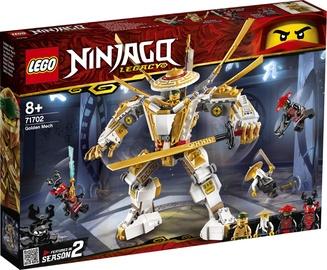 Konstruktor LEGO Ninjago Legacy Golden Mech 71702