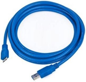 Juhe Gembird Cable USB to USB-micro Blue 3m