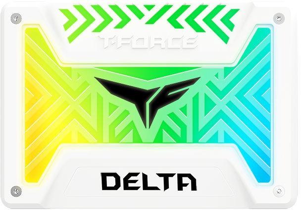Team Group Delta RGB SSD 250GB White