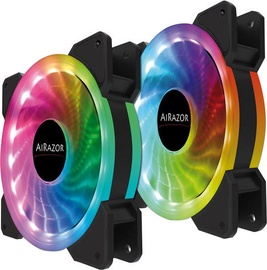 LC-Power AiRazor 120mm RGB Fan 2-Pack
