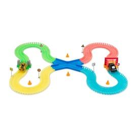 Žaislinis lenktynių rinkinys Magic Tracks