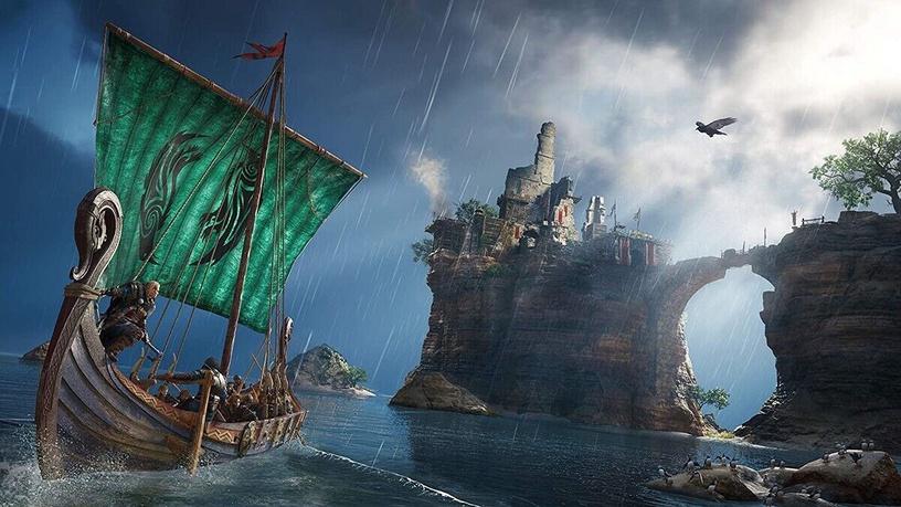 Assassin's Creed Valhalla EN/RU PS4