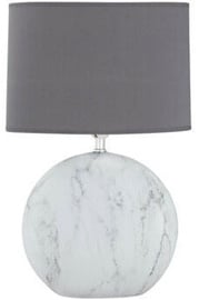 Fischer & Honsel Foro Marmor Table Lamp 60W E27 Marble/Gray