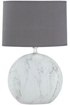 Fischer & Honsel Foro Marmor Table Lamp 60W E27 Marble/Gray