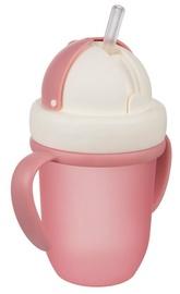 Canpol Babies Cup With Straw 210ml Matt Pink 56/522