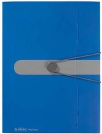 Herlitz Wallet Folder Easy Orga A4 Opaque Blue 11205994