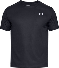 Under Armour Speed Stride Mens Running Shirt 1326564-001 Black M
