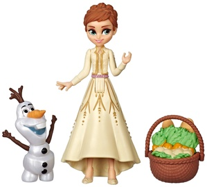Hasbro Disney Frozen Anna & Olaf Small Dolls With Basket Accessory E7079