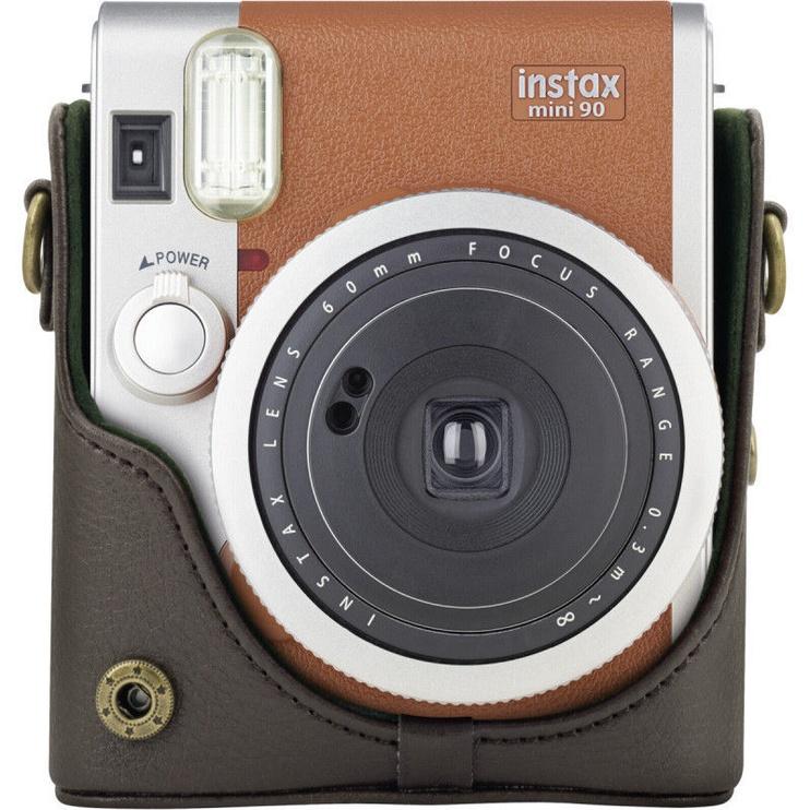 Kaamerakott Fujifilm, pruun