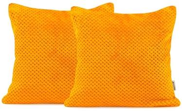 Наволочка DecoKing Henry, oранжевый, 450 x 450 мм