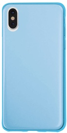 SBS Cool Back Cover For Apple iPhone X Light Blue