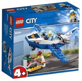 Konstruktorius LEGO® City 60206 Padangės policijos reaktyvinis patrulis