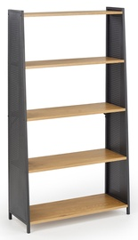 Halmar REG13 Bookcase Golden/Black Oak