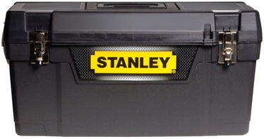 """Stanley 25"""" Plastic Tool Box with Metal Latches"""