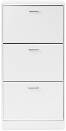 Songmics Shoe Cabinet White 60x120x24cm