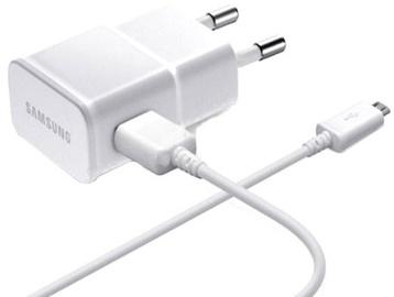 Samsung Universal USB Plug Charger/Micro USB Cable White