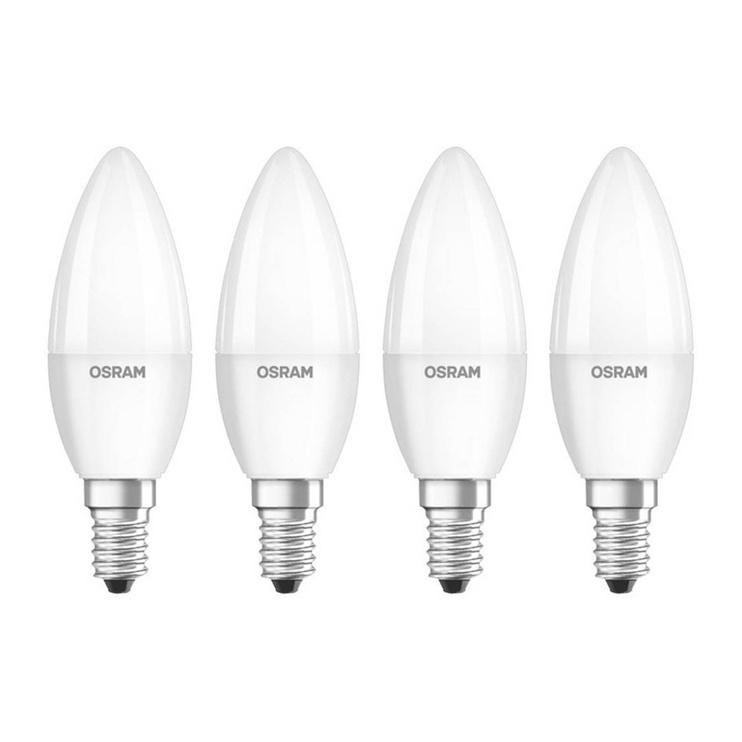 Spuldze LED Osram B40, 5,7W, E14, 2700K, 470lm, 4pc.