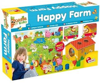 Dėlionė Lisciani Carotina Baby Happy Farm, 17 dalių