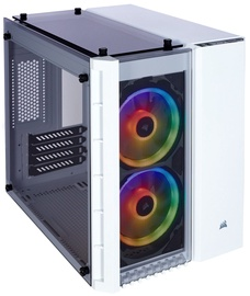 Corsair PC Case Crystal 280X RGB Tempered Glass White