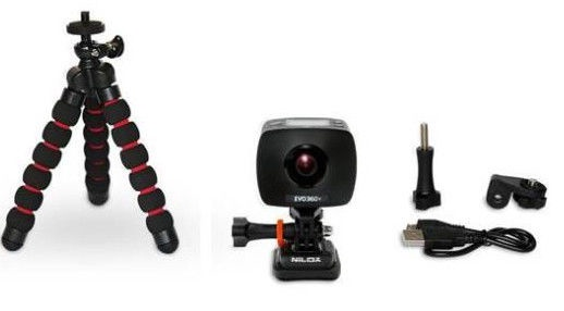 Nilox EVO 360+ Action Camera Black